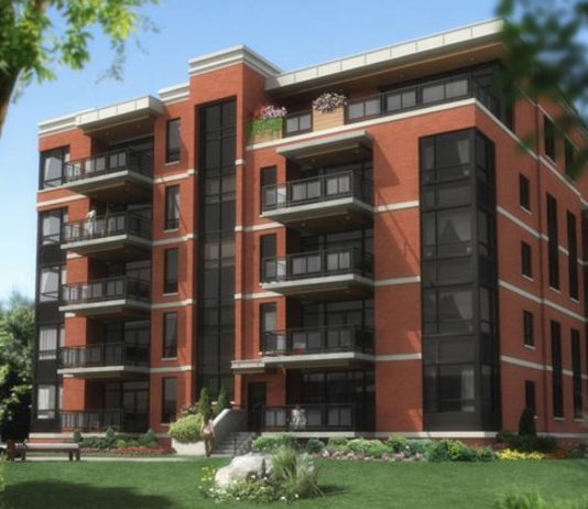 Prestigieux projet d'appartement de Saint-Lambert